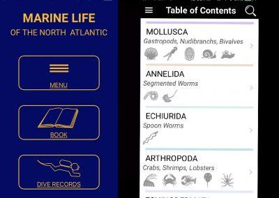 MLNA App Screen 1