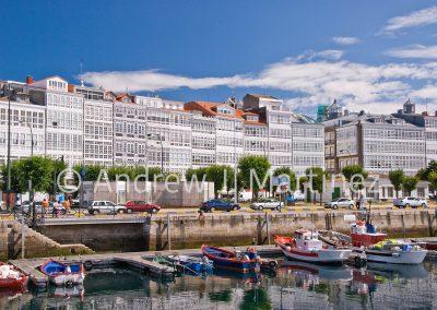 Galerias in a Coruña, Spain