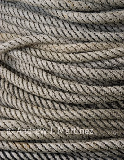 Rope at fish pier