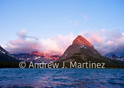 Sunrise at Glacier National Park